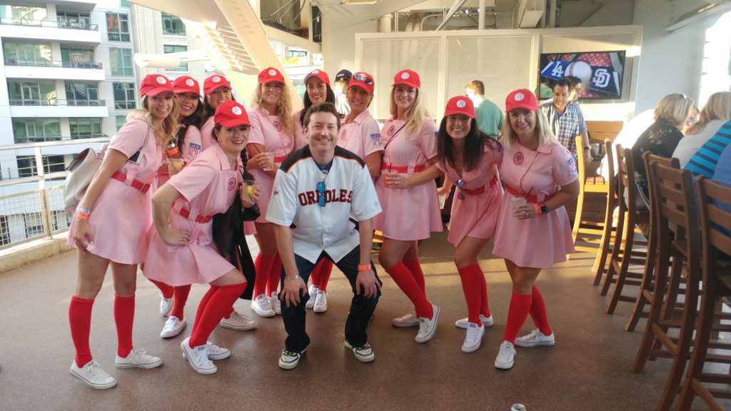 CBH Homes in A League of Their Own Costume