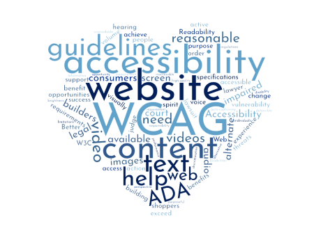 Website Content Accessibility Guidelines