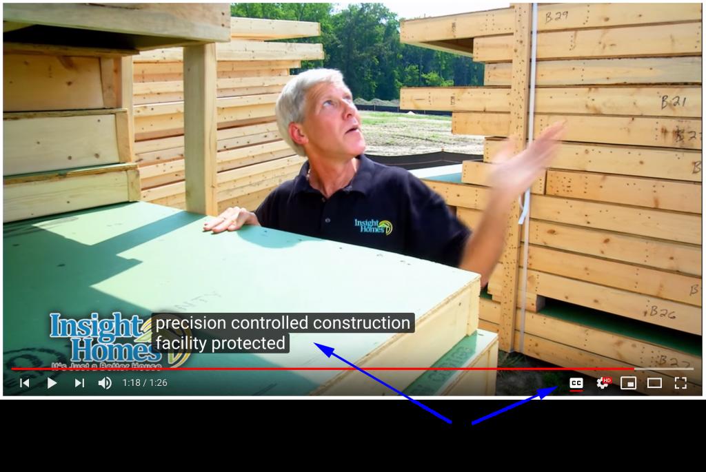 WCAG Complaint Home Builder Videos