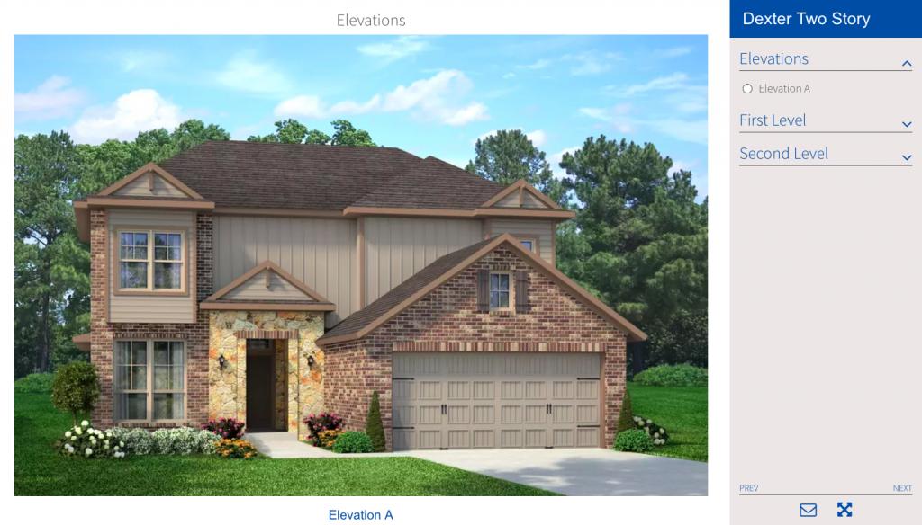 Home Builders Interactive Floor Plans
