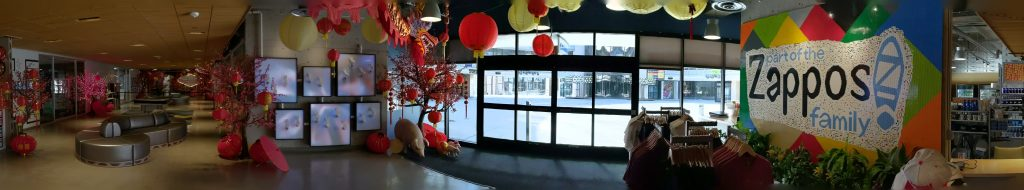 Zappos HQ Lobby