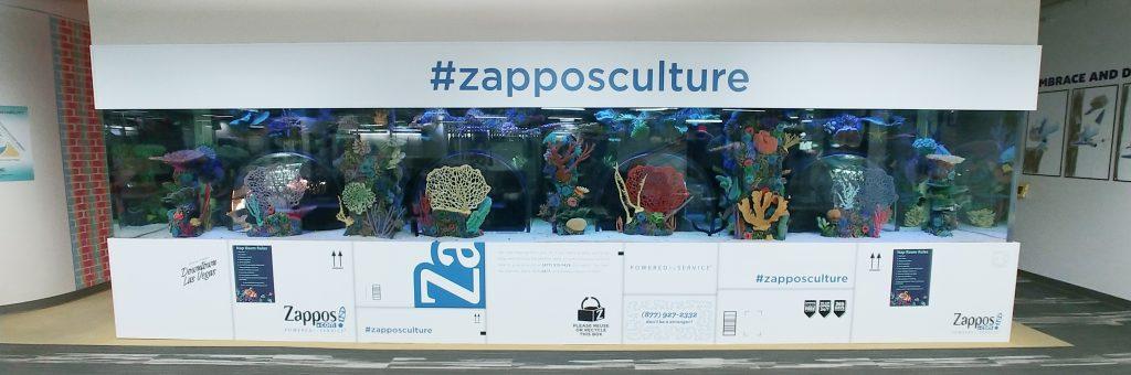 Zappos HQ Fish Tank