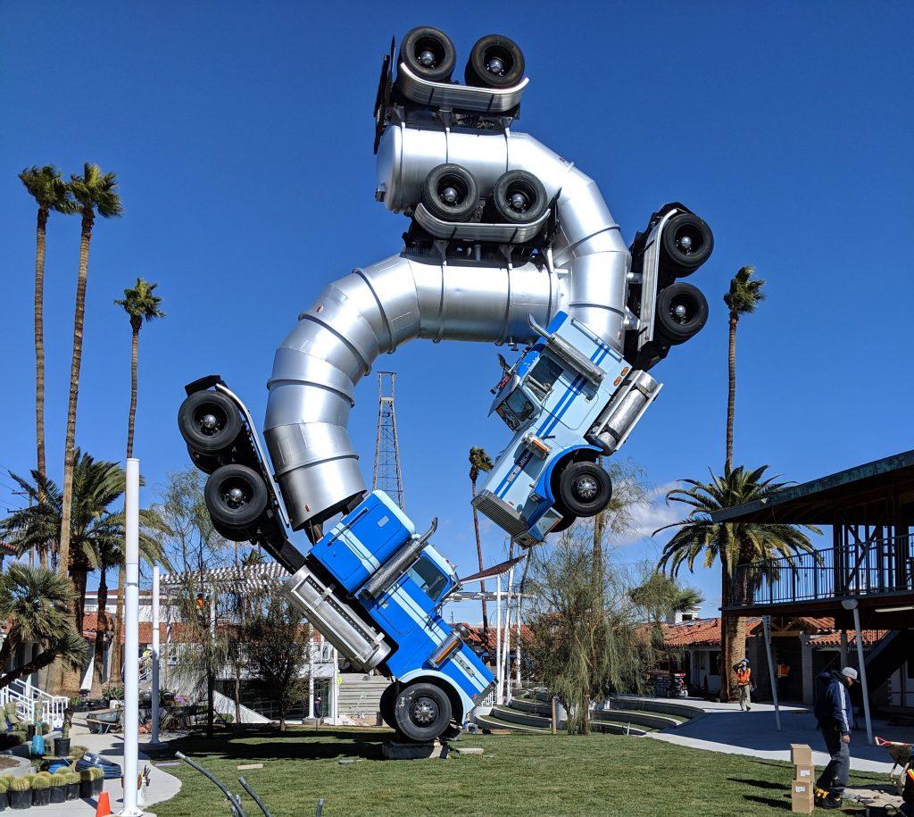Downtown Las Vegas Art [Truck]