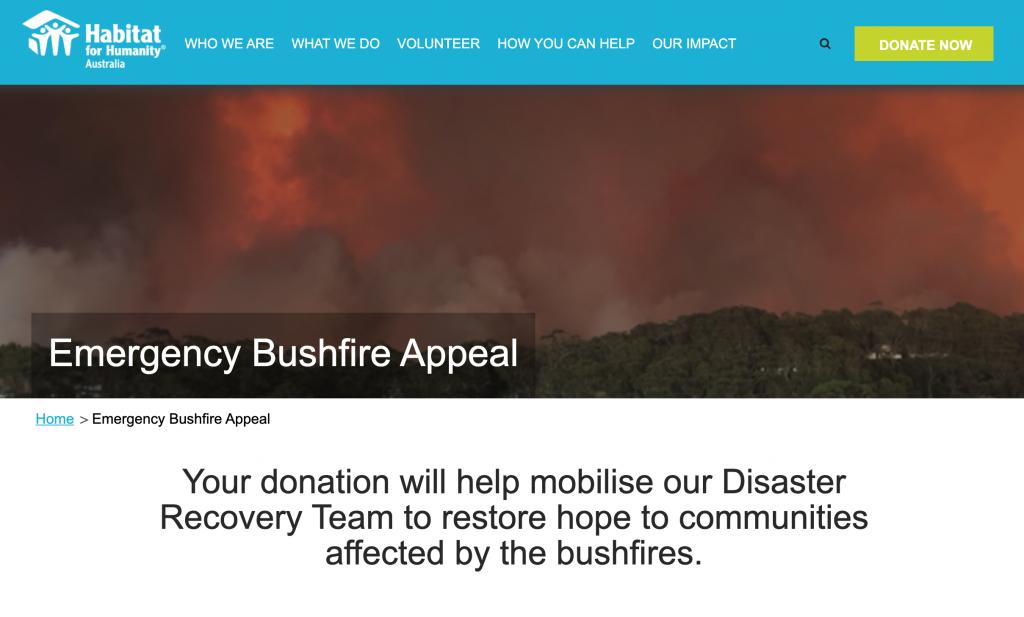 Habitat for Humanity Australia