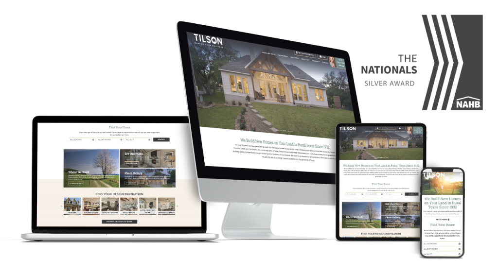 Tilson Homes - Award Winning Home Builder Website