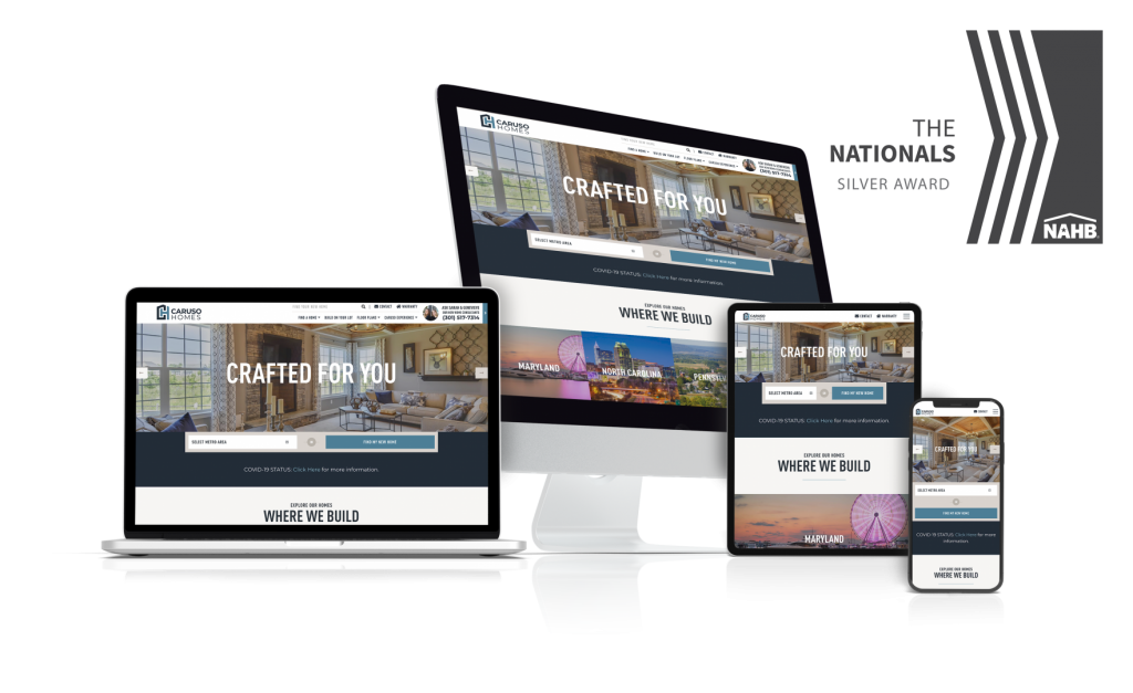 Caruso Homes - Award Winning Home Builder Website